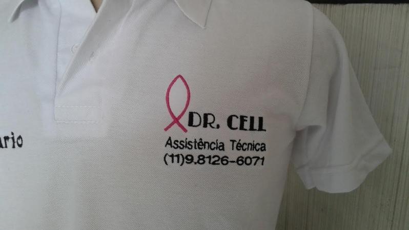 Camisa Personalizada com Logotipo Preço Jardim Paulistano - Camisa Personalizada Bordada