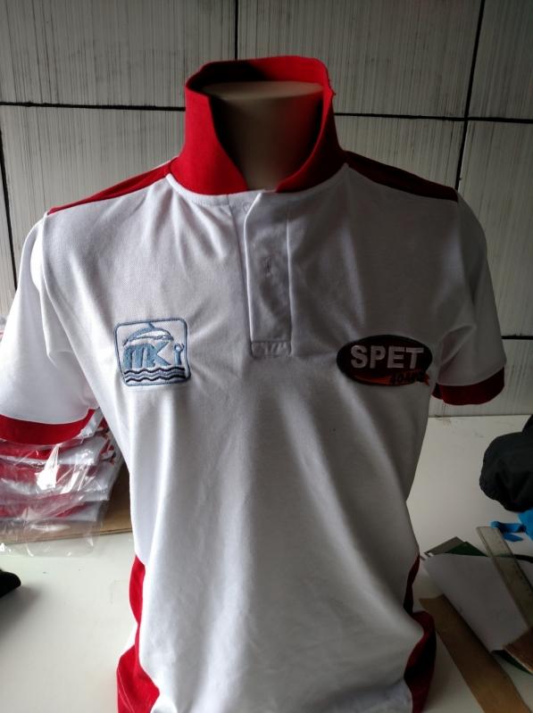 Camisa Polo Bordada para Empresas Campo Limpo - Camisetas Polo Feminina para Uniforme