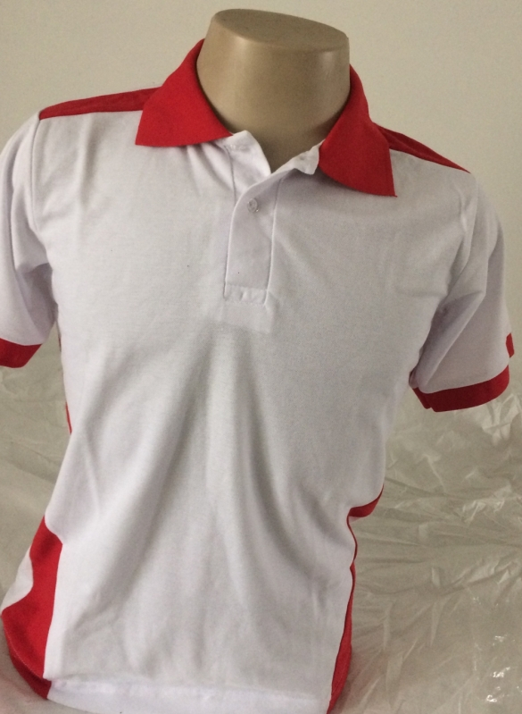 Camisa Polo Bordada Uniforme Vila Carrão - Modelos de Camisetas Polo