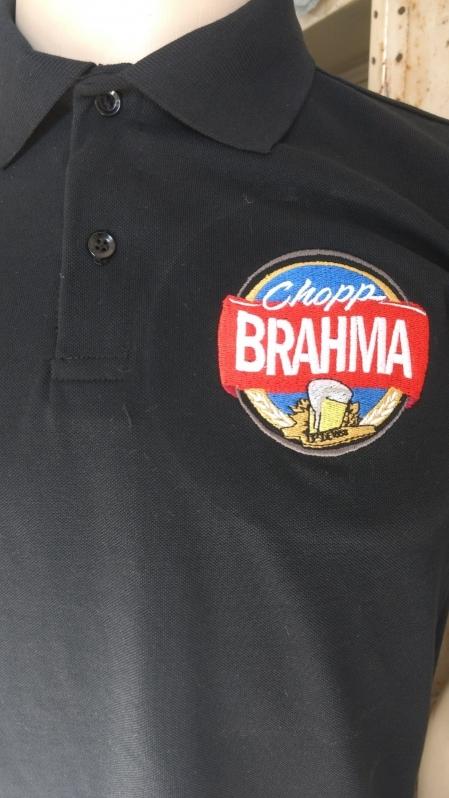 Camiseta Bordada Preço Artur Alvim - Camisetas Bordadas Logo Empresa
