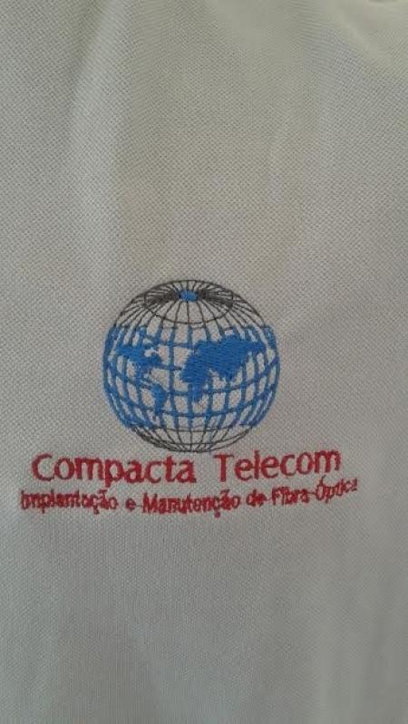 Camisetas Bordadas Personalizadas Parque São Lucas - Camiseta Bordada Logotipo