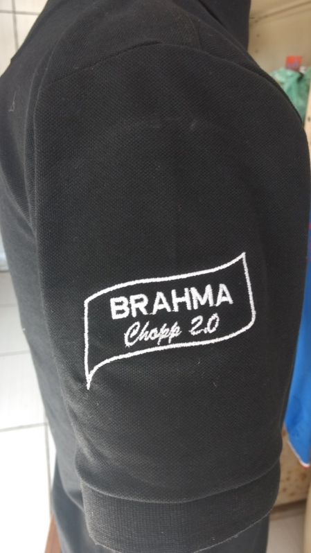 Camisetas Bordadas Tremembé - Camiseta Bordada Personalizada