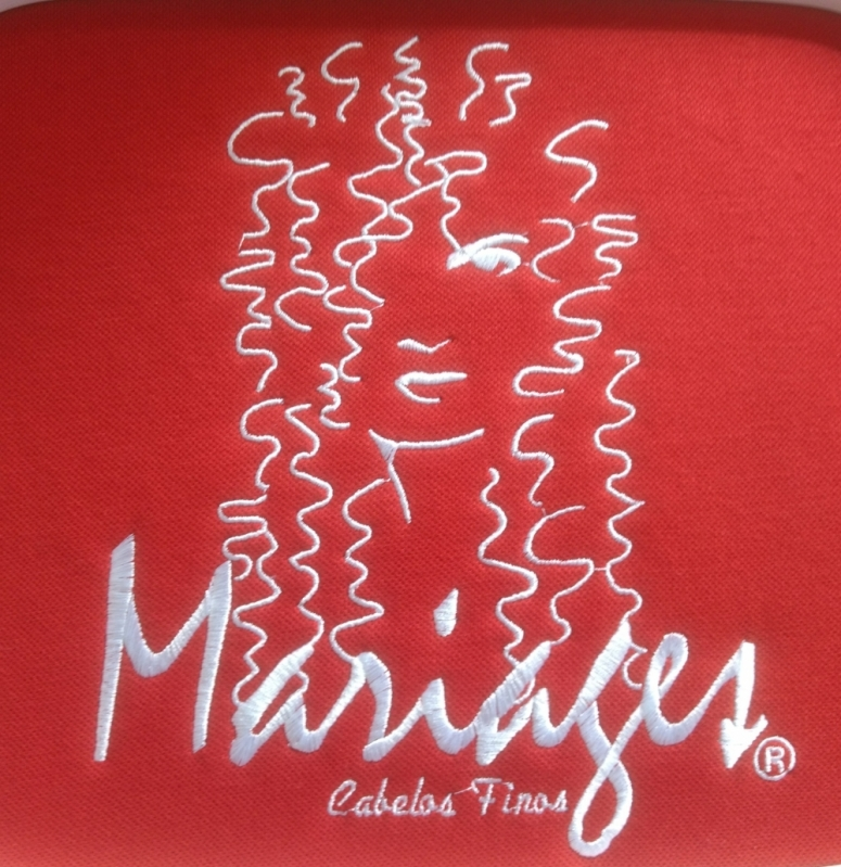 Camisetas Personalizadas Logo Vila Matilde - Camiseta Bordada Logotipo