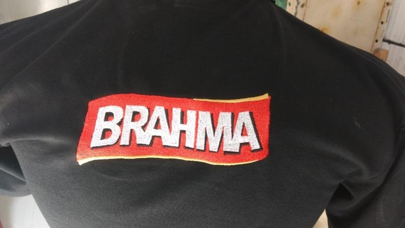 Logomarca em Bordado Preço Aeroporto - Bordar Logotipo em Camiseta