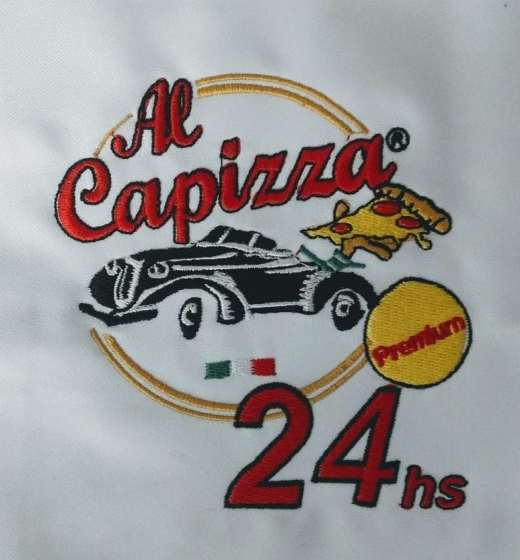 Logomarca em Bordado Guarulhos - Bordar Logotipo Camiseta