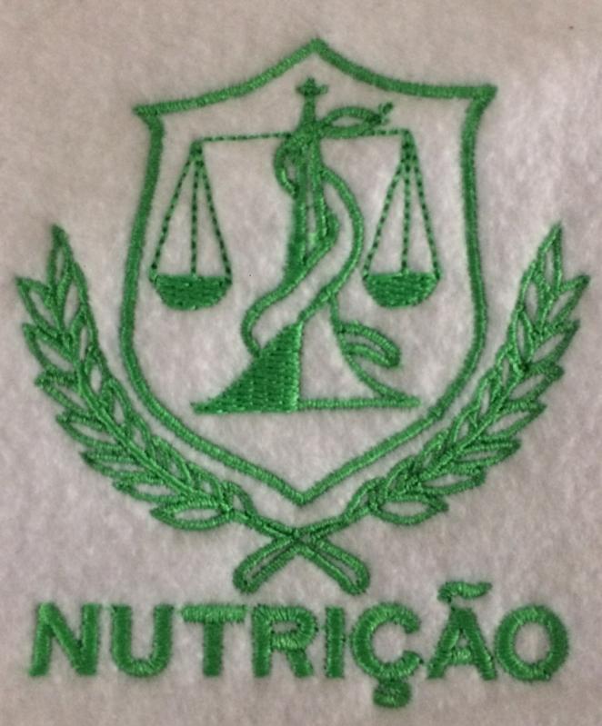 Logotipo Farmácia Bordado Preço Ponte Rasa - Logomarca Bordada