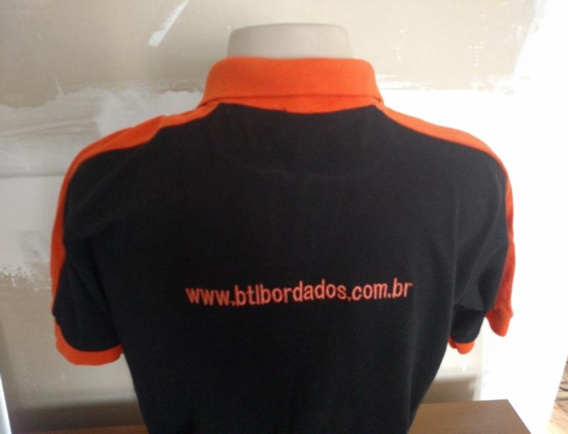 Onde Encontro Camisa Personalizada Bordada Água Funda - Camisa Personalizada