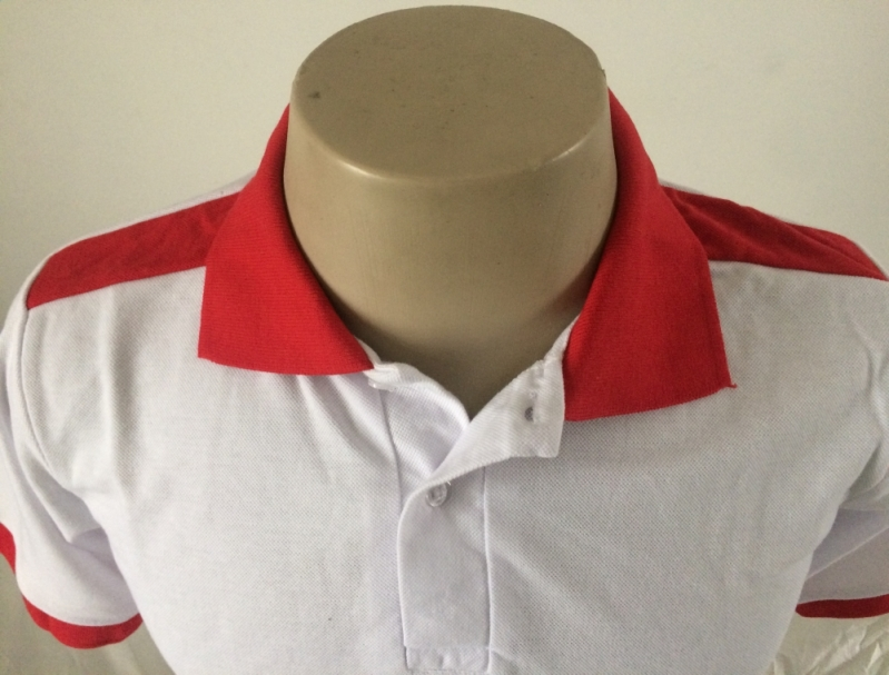 Onde Encontro Camisa Personalizada com Bordado do Logo Sapopemba - Camisa Personalizada Atacado