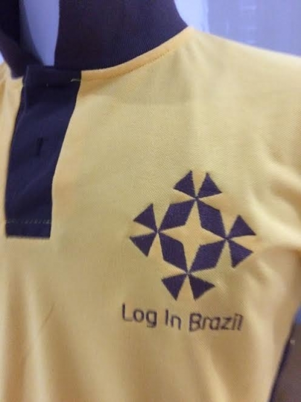 Onde Encontro Camisa Personalizada com Logo Cidade Tiradentes - Camisa Personalizada com Bordado do Logotipo