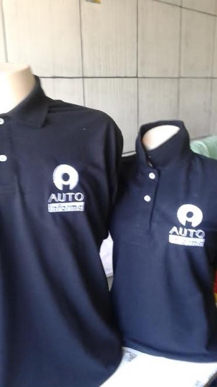 Quanto Custa Logotipo Bordado na Camisa M'Boi Mirim - Polo Logotipo Bordado
