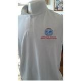 camisa personalizada com bordado preço Ipiranga