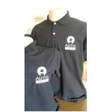 camisa personalizada com logotipo Água Rasa