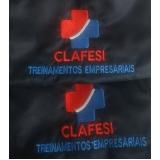 camisa polo bordada personalizada com logo preço Bela Cintra