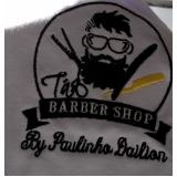 camisa polo bordada personalizada com logo Praia Grande