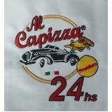 camisa polo com bordado personalizado preço Pacaembu