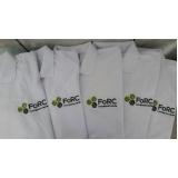 camisa polo com bordado preço Aricanduva