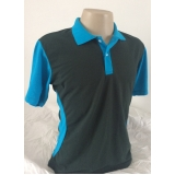 camisa polo com bordado Jockey Club