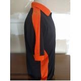 camisa polo com logo bordado preço Santo Amaro