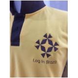 camisa personalizada com logo