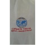 camisas personalizadas com bordado Barra Funda