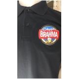 camisa polo com bordado personalizado