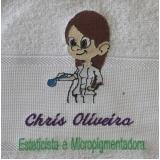 camiseta bordada logotipo preço Mooca