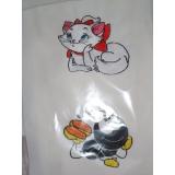 camiseta branca bordada Jabaquara