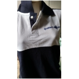 camisetas bordadas logo empresa preço Jardim São Luiz