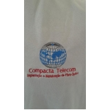 camisetas bordadas personalizadas Vila Curuçá