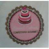 logomarca em bordado valor Jardim Bonfiglioli