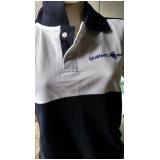 quanto custa camisa polo com logo bordado Cidade Dutra